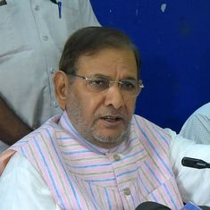 Watch: Votes are worth more than a daughter's honour, says JD(U) leader Sharad Yadav