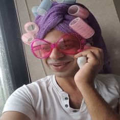 How a Punjabi aunty wearing pink sunglasses caught the internet's fancy