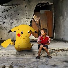 Watch: A social media campaign reminds people to rescue Syrian children instead of Pokémon figures