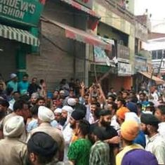 Shiv Sena members clash with Muslim men in Punjab's Phagwara, seven people injured