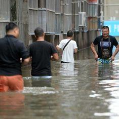 चीन में बाढ़ से 87 लोगों की मौत, लाखों प्रभावित