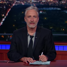 Watch: Jon Stewart returns to hilariously take down 'the angry groundhog' Trump, and Fox News