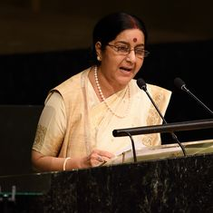 Two Indians abducted by Islamic State in Libya have been freed: Sushma Swaraj