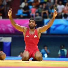 Indian wrestling is in drug-induced disarray, but if one man can still win a gold, it's 'Yogi' Dutt