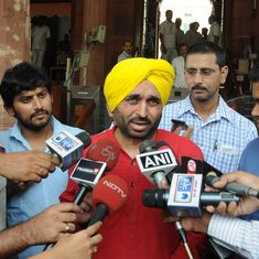 Bhagwant Mann quits as AAP Punjab chief after Kejriwal apologises to Shiromani Akali Dal leader