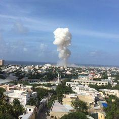 Ten killed in major explosion near UN headquarters in Mogadishu, Somalia