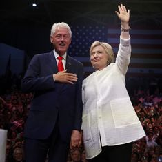 US elections: Bill Clinton calls Hillary a 'change-maker' after she wins presidential nomination