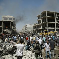 50 dead, dozens injured after Islamic State sets off two explosions in Syria's Qamishli city