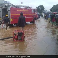 Bengaluru's rain mayhem: Flood rescue at Kodichikkanahalli, fishing on roads near Madivala