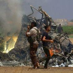 सीरिया में विद्रोहियों ने रूसी हेलिकॉप्टर गिराया, पांच की मौत