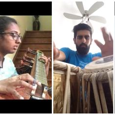 Desified Cheap Thrills: Watch covers of the hit song on tabla, veena and a Juhu beach version