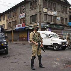 कश्मीर में आतंकी हमले, सीआरपीएफ का एक अधिकारी शहीद, नौ जवान घायल, पांच आतंकियों की मौत