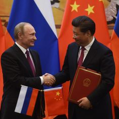 Can Japan tempt frenemy Russia into an alliance against China?