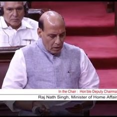 I asked SAARC nations to ratify global conventions against terror, Rajnath Singh tells Parliament