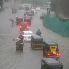 Watch: Mumbai is flooded once again and people stuck at home and in traffic are taking videos