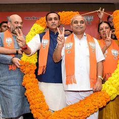 अमित शाह और आनंदीबेन के बीच तकरार के बाद विजय रुपानी को गुजरात का मुख्यमंत्री चुना गया