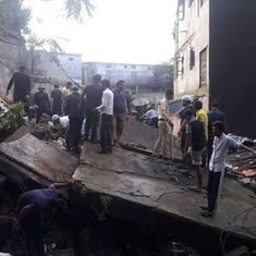 Two dead, several feared trapped after two-storey building collapses in Bhiwandi
