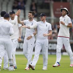 The score: Pakistan's middle-order collapse hands England 141-run win in 3rd Test