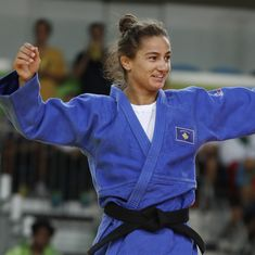 War-torn Kosovo wins an Olympic gold medal on debut to finally fulfil a long-standing dream