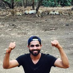 Cricketer Ravindra Jadeja pays Rs 20,000 fine for photo with lions in Gir sanctuary