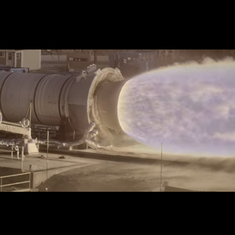 Watch: NASA's new camera records gorgeous slow motion footage of a rocket booster