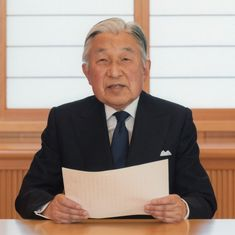 Japan: Emperor Akihito attends his last World War II memorial service before abdication