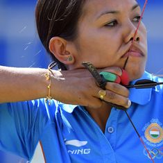 Olympics archery: Bombayla Devi knocked out in round of 16, Indian women's challenge ends