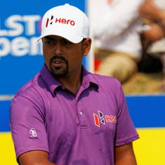 Olympic golf: Lahiri disappoints with 50th rank after round 1, Chawrasia does better with 27th