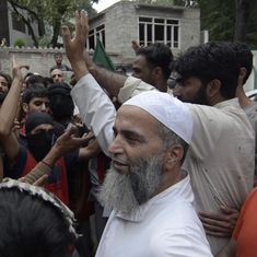 They say Kashmir is ours but they don't consider Kashmiris as their own, claims Burhan Wani's father