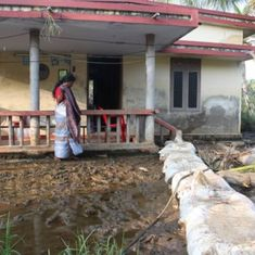 Those who get bruised by water: How residents of the sinking Munroe island in Kerala live
