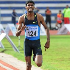 Jinson Johnson shatters Sriram Singh's four-decade-old 800m record to qualify for Asian Games