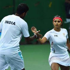Olympics: Sania Mirza and Rohan Bopanna through to tennis mixed doubles semi-finals