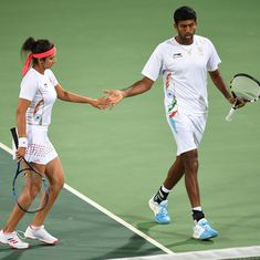 Olympics: Sania Mirza and Rohan Bopanna sail into tennis mixed doubles semifinals