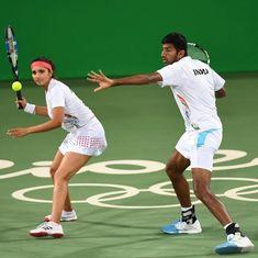 सानिया मिर्जा-रोहन बोपन्ना की जोड़ी से ओलंपिक में एक मेडल की उम्मीद की जा सकती है
