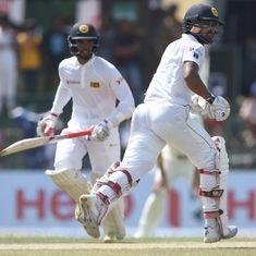 The score: Dhananjaya de Silva and Dinesh Chandimal bail Sri Lanka out from dire straits