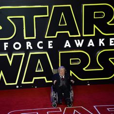 Kenny Baker, who played R2-D2 in 'Star Wars', was 'the only one around that was just right for it'