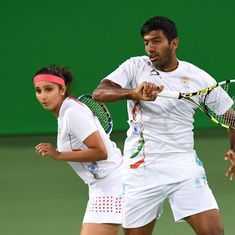 Olympics: Sania Mirza and Rohan Bopanna lose bronze medal match in tennis mixed doubles