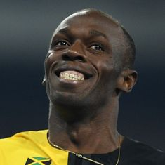 Usain Bolt ready to take the track for one last time in the 100 metres at the worlds