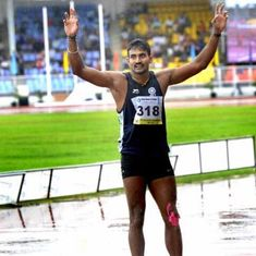 Olympics: Triple jumper Renjith Maheswary finishes 30th, fails to qualify for finals.