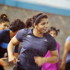 Sakshi Malik grabs World Championship spot  after opponent backs out through injury