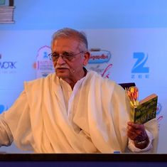 Gulzar: 'Words should amaze or amuse, only then will listeners want to understand the song'