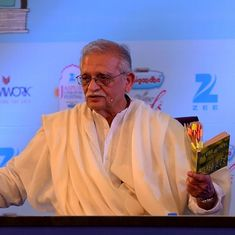 Gulzar on why Hindi films cannot be representative of Indian music