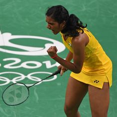 PV Sindhu storms into badminton singles final, to face Carolina Marin for Olympic gold