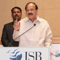 'An English mind, not the language, is an illness,' clarifies Vice President Venkaiah Naidu