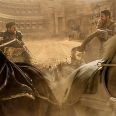 Film review: 'Ben-Hur' remake has a chariot scene but fails to race past the original