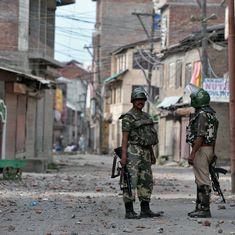 Kashmir unrest: CRPF officer suspended after he fires pellets at ambulance driver