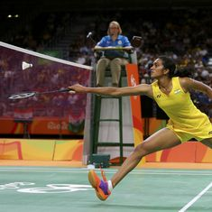 PV Sindhu loses to world No. 1 Carolina Marin to win badminton silver medal at Rio Olympics