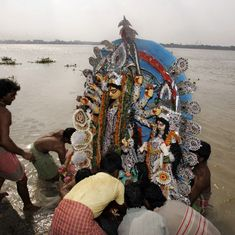Impose Rs 50,000 fine for immersing idols in Ganga and its tributaries, Centre tells states: Reports