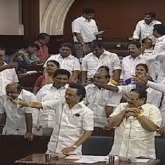 As Tamil Nadu politicians bring the House down, citizens are the ones left stranded