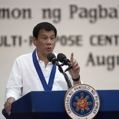 Philippines President Rodrigo Duterte calls UN human rights chief an idiot